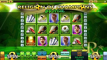 Religion of Champions Brasil 02