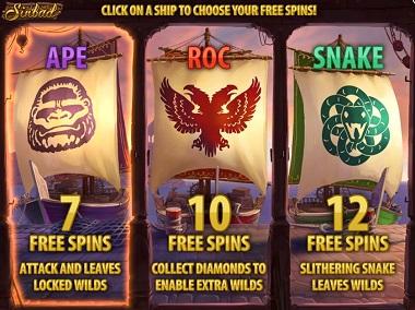 Sinbad bonus
