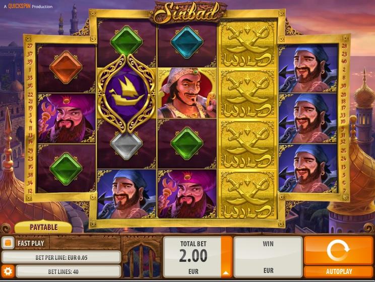 Sinbad gameplay