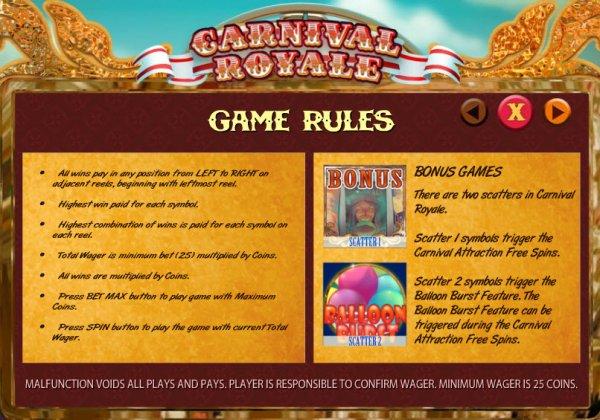 carnival-royale bonus games