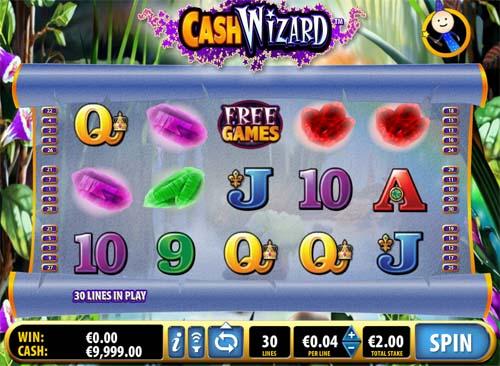 cash-wizard slot