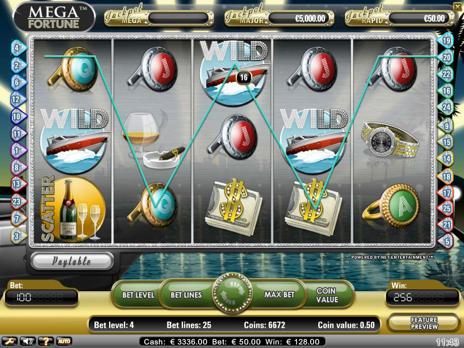 mega fortune wild