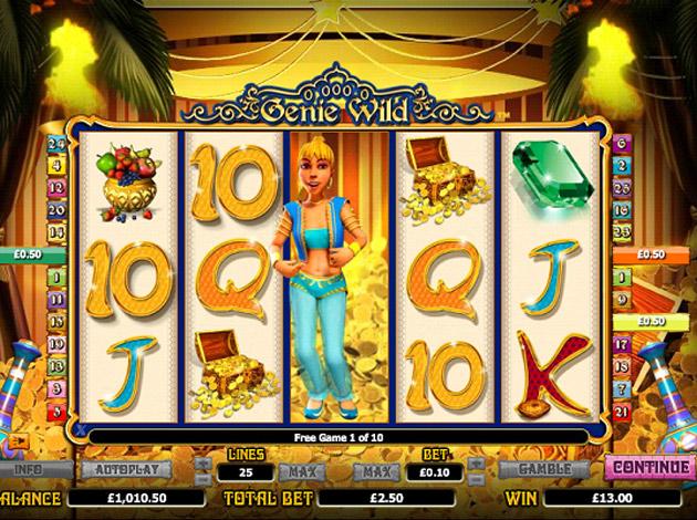 Genie Wild 01