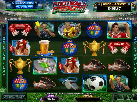 fotball-frenzy-slot