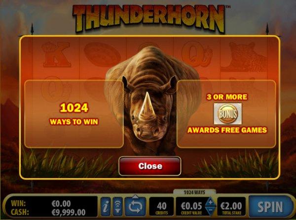 thunderhorn-play