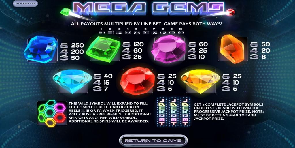 mega-gems-paytable
