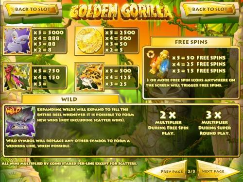 golden-gorilla-info