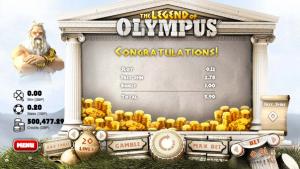 Legend of Olympus 3