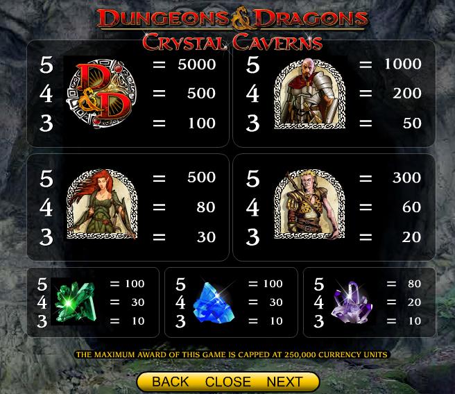 crystal-caverns-symboler