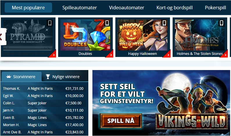 norgesspill-spel-no